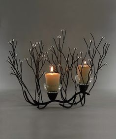Look what I found on #zulily! Metal Twig Candleholder by Save On Crafts #zulilyfinds