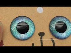 How to~ make eyes-chip for blythe by hand paint 3 minutes! - YouTube