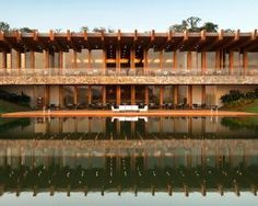 The most recent Fasano hotel to open in Porto Feliz, Brazil is the Boa Vista designed by Isay Weinfeld. As the first country retreat of the prestigious group, it is situated on farmland with lakes, forests and farms 100klm from Sao Paulo. It has been designed to provide the comfort of a contemporary ranch with the rural building materials of quality wood and stone, set in a soothing lakeside rural setting.