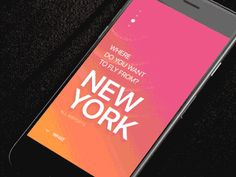 Mobile Design Inspiration — Swipe mood for Tinder Travel product design...
