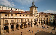 Ayuntamiento. Oviedo. Asturias. Spain.