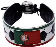 Portuguese Flag Classic Soccer Bracelet