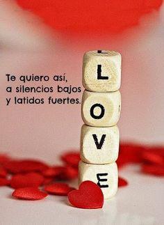 Te quiero así...