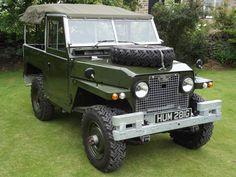 Land Rover Series IIA Lightweight 1969