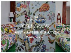 20/21 Print + Pattern Inspiration: JOSEF FRANK