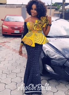 Clothing ideas on african fashion outfits 584 African Fashion Ankara, African Fashion Designers, Latest African Fashion Dresses, African Dresses For Women, African Print Dresses, African Print Fashion, Africa Fashion, African Attire, African Wear