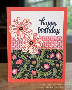 Card Creations by Beth: Birthday Cards