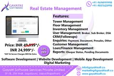 Gayatri software is the best in website, software, Hybrid Mobile app development, Digital Marketing, and Product development. We are working with India biggest MNC'S and providing best in class services. Web Development Company, Software Development, Real Estate Software, Software Products, Inventory Management, Cheque, Mobile App, Digital Marketing, Finance