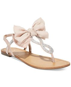 Material Girl Sandra Flat Sandals, Only at Macy's - Juniors' Shoes - Shoes - Macy's