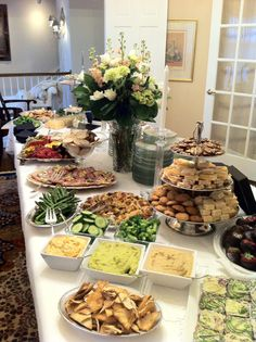 Holly's Gourmets Market - Holly's Gourmet Market and Cafe Party Food Buffet, Appetizer Buffet, Appetizers Table, Party Platters, Food Platters, Appetizer Table Display, Yummy Snacks, Healthy Snacks, Decoration Buffet