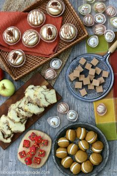 FALL DESSERT TABLE -