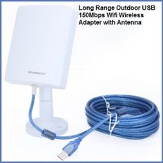 Best Long Range WIFI Antenna - #WIFIBooster my husband uses this and get GREAT internet connection. Get yours today! http://www.amazon.com/dp/product/B00DJ23D3W/?tag=ramtracking-20