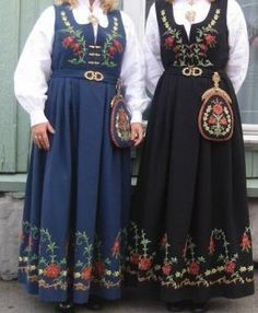 Spin-off: Har du bunad? Costumes Around The World, Scandinavian Fashion, Medieval Dress, Ethnic Dress, Folk Costume, Traditional Dresses, Color Combinations, Norway, Culture
