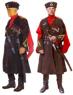 Kawaleria Wehrmachtu; Sierżanci Kozaków generała von Pannwitza w mundurze, 1943-1945