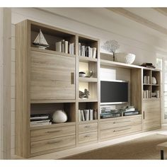 built-ins and tv Living Room Tv Unit Designs, Home Decor Furniture, Kitchens And Bedrooms, Living Room Built Ins, Tv Unit Furniture, Tv Room Design, Living Room Trends, Living Room Wall Units, Living Room Designs