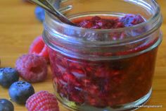 Quick, sugar-free jam!  No chemicals, no sugar, no artificial sweeteners...and fast!