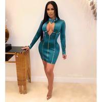 Raven satin sport dress (Emerald) - Posh By V Red Pantsuit, Stretch Satin, More Cute, New Shop, Satin Dresses, Online Boutiques, Raven, New Dress, Bodycon Dress