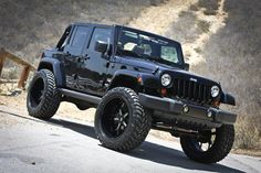 We are the lifted jeep Authority! #love the build? Repin to your #jeep board! http://www.wheelhero.com/rims-and-tires