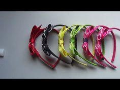 Tiara com laço simples e charmoso - YouTube