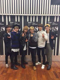 150313 {Twitter} 歌広場 淳 #Shinee #Key #Taemin #Minho #Onew #Jonghyun #YourNumber #Your_Number