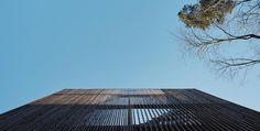 Enebolig Bestumveien | wood arkitektur+design Skyscraper, Woods, Multi Story Building, Design, Skyscrapers, Woodland Forest, Forests, Wood
