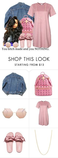 """""""untitled #161"""" by yani122 ❤ liked on Polyvore featuring MCM, Topshop, NLY Trend and Sevil Designs"""