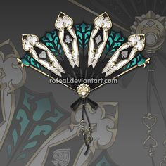 WeaponCustom by Rofeal on DeviantArt Cosplay Weapons, Anime Weapons, Fantasy Weapons, How To Draw Weapons, Character Concept, Character Design, Pinturas Disney, Sword Design, Beautiful Fantasy Art