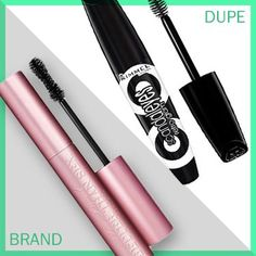 """One dupe that I love for Too Faced Better Than Sex mascara ($23) is Rimmel's Scandaleyes Retro Glam ($5),"" says Liz Fuller. ""They seem to be identical: same bushy brush and consistency. The end result is also the same: really full, black lashes with a false lash effect."""