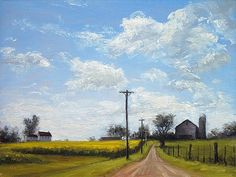 The Derwood Farm - Landscape Paintings by Joe Kazimierczyk