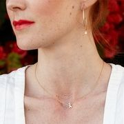 Simplicity goes a long way and LA based designer Ariel Gordon clearly gets it. After working as a publicist for years, Ariel decided to pursue jewelry design professionally and eventually delved into the world of metalsmithing… Giraffe Necklace, Arrow Necklace, Pearl Necklace, Ariel, Passion For Fashion, Style Me, Delicate, Jewelry Design, Gems