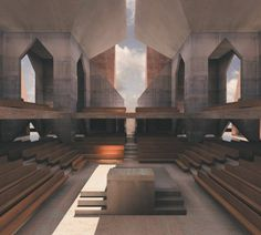 Hurva Synagogue, Louis Kahn