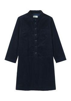 SOFT CORD SHIRT DRESS by TOAST