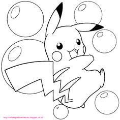 Aneka Gambar Mewarnai - 5 Gambar Mewarnai Pokemon Untuk Anak PAUD dan TK.   Gambar berikut adalah ga...