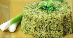 Receita de arroz verde - deixe o arroz muito mais saudável e saboroso | Cura pela Natureza