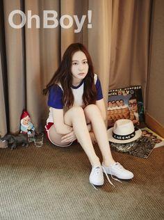 Krystal de f(x) en una sesión fotográfica de ensueño para la revista Oh Boy! | Soompi Spanish