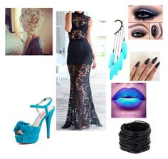 """""""#45"""" by renee-lowrimore on Polyvore featuring Betsey Johnson, Anni Jürgenson and Saachi"""