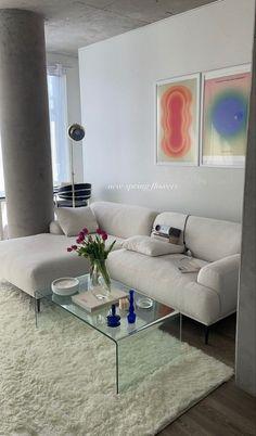 Dream Home Design, Home Interior Design, Living Room Decor, Bedroom Decor, Wall Decor, Deco Studio, Aesthetic Room Decor, Home And Deco, Dream Rooms