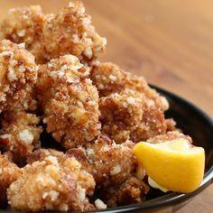 Crunchy rice cracker chicken  このカリカリがクセになる!クリスピーせんべいチキン