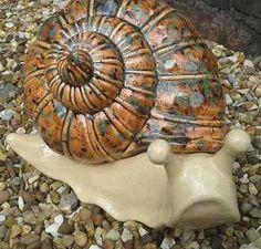 Pottery – Ceramic Snail | Creative Cone