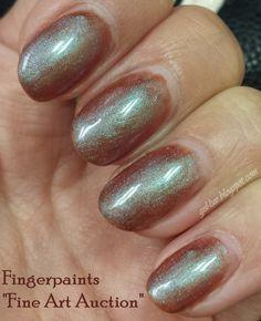 """Gel-Luv: A GEL Polish Blog!: Fingerpaints """"Fine Art Auction"""""""