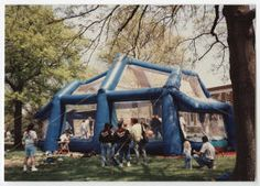 [Inflatable Playhouse on Campus, n.d.] :: UNCG University Archives