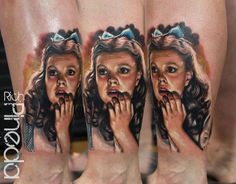 Dorothy from the wizard of oz tattoo
