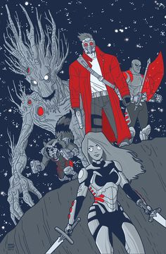 Guardians of the Galaxy by Dennis Culver