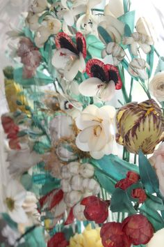 If you had a fine home during the Victorian Era, (1860-1880), you most likely had a wax floral study, at least one, in your Parlour. These oddly fascinating pieces could contain anything from artful...