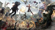 Scot Drake, an executive at Walt Disney Imagineering, recently gave us a hint about the Avengers ride system at California Adventure and Disneyland Paris. The Avengers, Avengers Cartoon, Marvel News, Marvel Art, Disney Marvel, Marvel Comics, Ms Marvel, Marvel Heroes, Drake