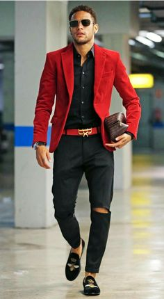 Blazer outfits men - 30 the most cool casual winter fashion outfits for me 11 Blazer Outfits Men, Casual Outfits, Red Blazer Mens, Mode Masculine, Stylish Men, Men Casual, Winter Fashion Casual, Casual Winter, Herren Outfit