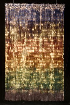 Olga de Amaral Work - Gold and Silver / Colombian artist
