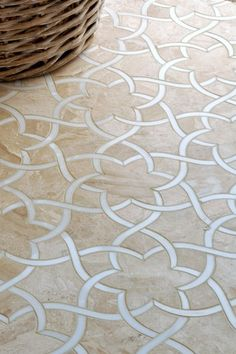 love this tile - Great Contemporary Entryway