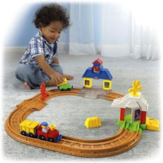 Shop for Little People® Wheelies™ Connect 'n Play Railway and buy something new for your little one to explore. Find the perfect Little People toddler toys right here at Fisher-Price.