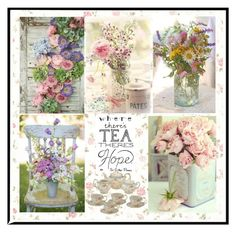 """TEA TIME"" by paula-parker ❤ liked on Polyvore featuring interior, interiors, interior design, home, home decor, interior decorating and Etiquette"